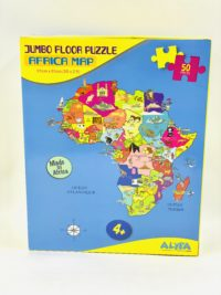 Puzzle Afrique English