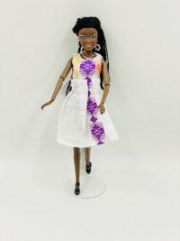 Aida Choco Tissu Sari 2