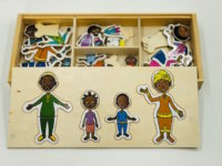 Puzzle Famille Africaine 2